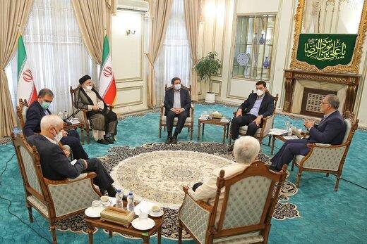 رئیسی با کاندیداهای انتخابات ۱۴۰۰ دیدار کرد