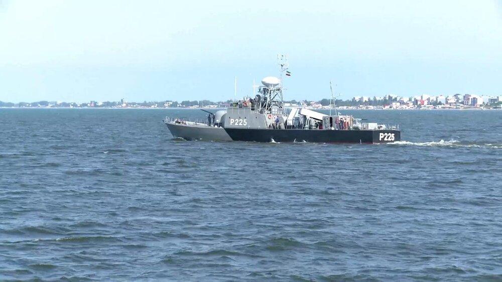 تمرین دریایی امنیت پایدار نیروی دریایی ارتش