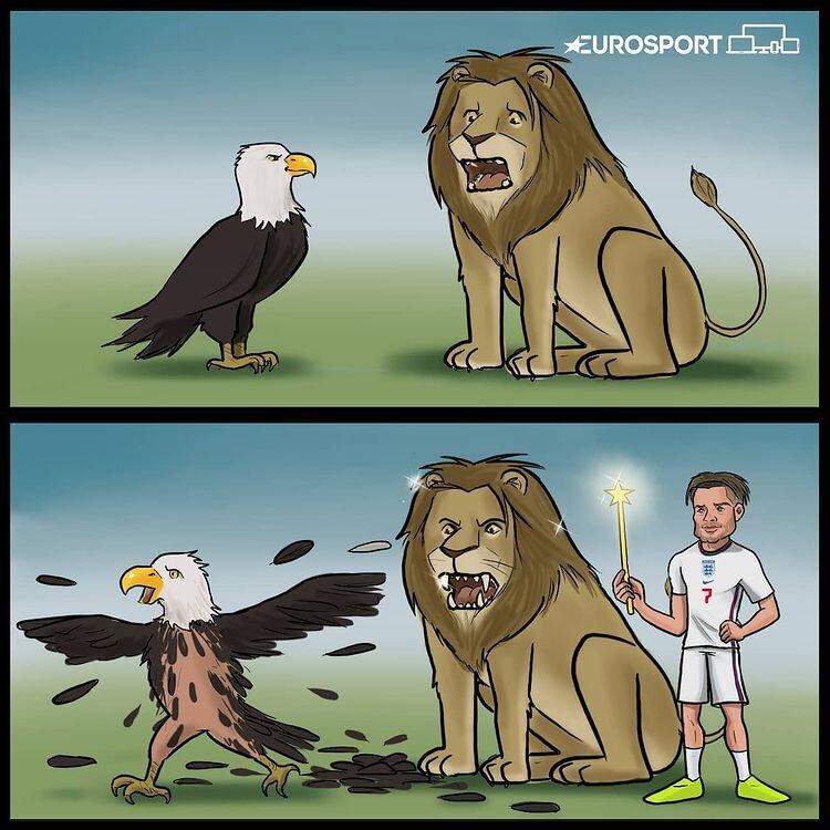 ببینید شیرهای انگلیسی با عقابهای آلمانی چه کردند!