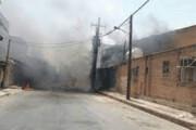 ببینید | تصاویر هولناک از ترکیدن ترانس برق در خوزستان به خاطر گرمای هوا