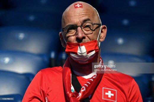 تماشاگر خلاق و بامزه در یورو 2020/عکس
