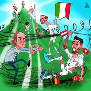 ببینید: ستاره ایتالیاییها مسیر قهرمانی را باز کرد!