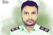 ببینید   تصاویر دلخراش از لحظه شهادت افسر پلیس در مشهد