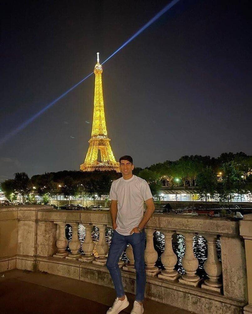 علیرضا بیرانوند در پاریس/عکس