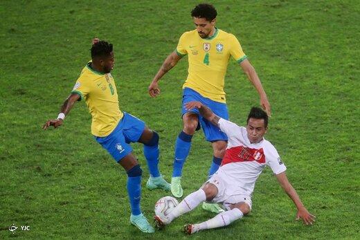 نیمه نهایی کوپا آمریکا ۲۰۲۱ / برزیل یک - پرو صفر