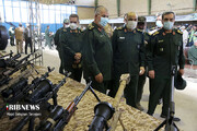 تصاویر   رونمایی از جدیدترین تسلیحات و تجهیزات راهبردی نیروی زمینی سپاه