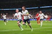 انگلیس یک قدم تا رسیدن به رویای قهرمانی در یورو