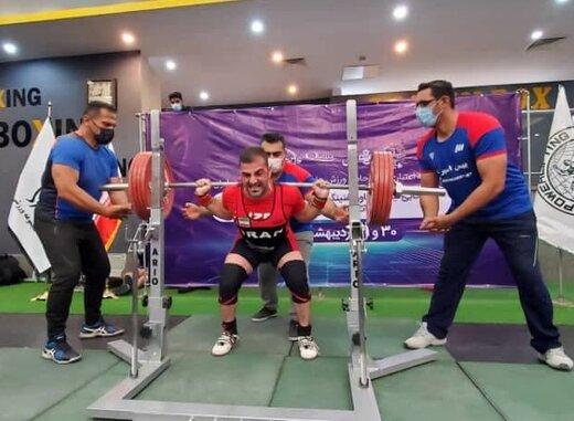 نایب قهرمان یک ایرانی در کاپ جهانی پاورلیفتینگ