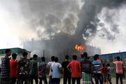 ببینید | آتشسوزی مرگبار در بنگلادش؛ ۵۲ کشته و ۲۰ زخمی