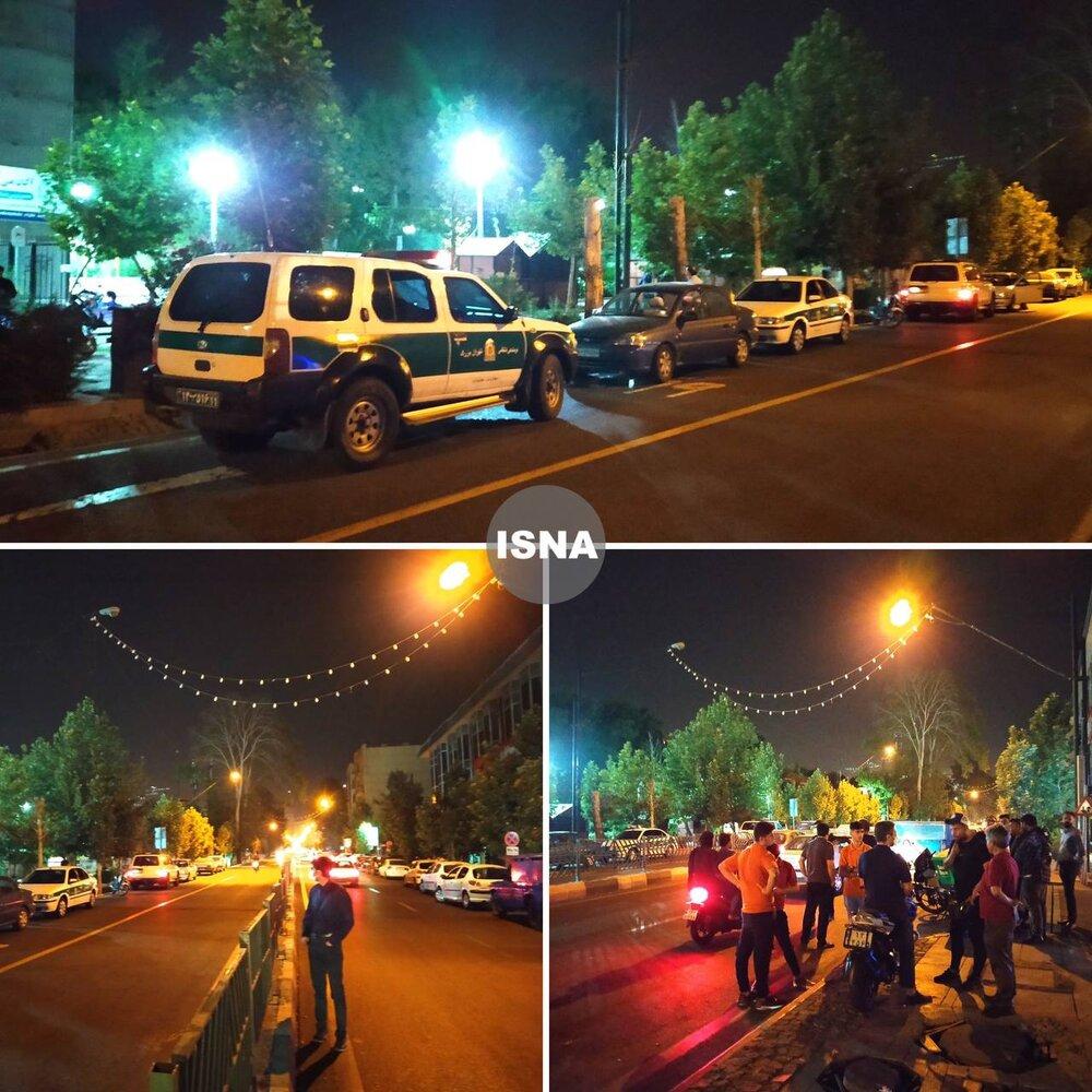 تصاویر | وضعیت پارک ملت تهران پس از انفجار امشب