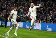 ببینید | گل اول انگلیس به ایتالیا در فینال یورو ۲۰۲۰