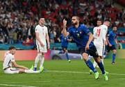 ببینید | کری سنگین بازیکنان ایتالیا برای انگلیسیها