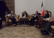 Iran Ambassador to Baghdad confers with UN envoy