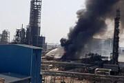 ببینید |  وقوع آتش سوزی در پتروشیمی امیرکبیر