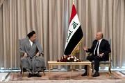 در دیدار وزیر اطلاعات ایران با رئیس جمهور عراق چه گذشت؟