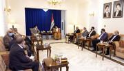 دیدار و رایزنی وزیر اطلاعات با عمار حکیم+ عکس
