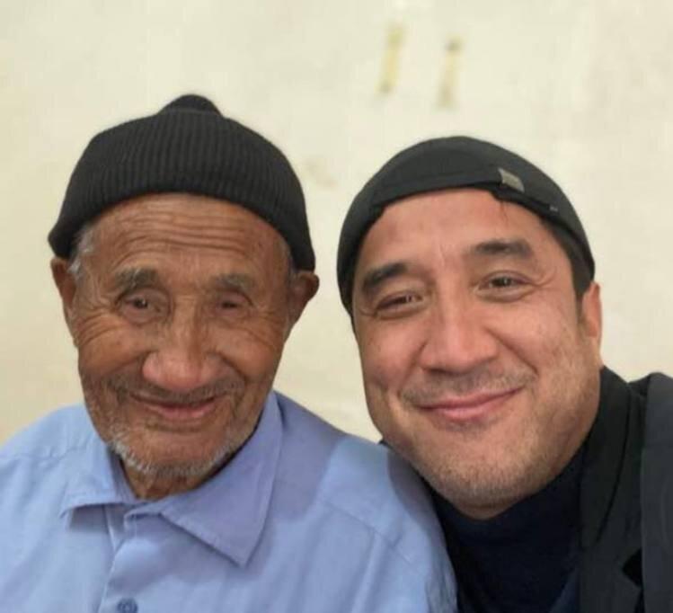 عکس| شباهت زیاد و جالب خداداد عزیزی با پدرش