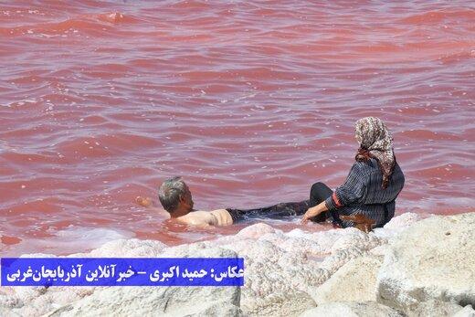دریاچه ارومیه میزبان گردشگران و هموطنان