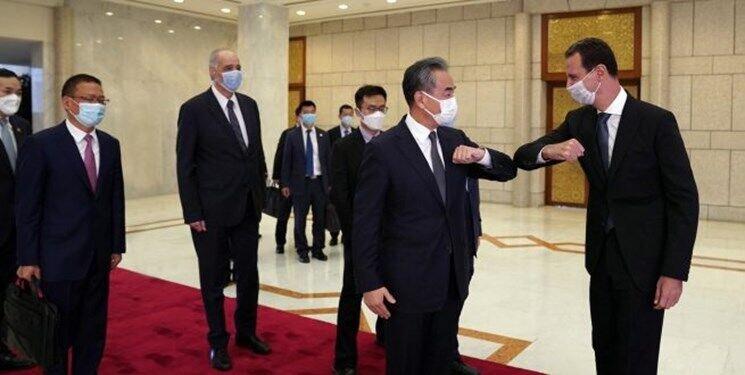 در دیدار وزیرخارجه چین با بشار اسد چه گذشت؟