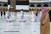 ببینید | نوای «لبیک اللهم لبیک» در مسجدالحرام پیچید