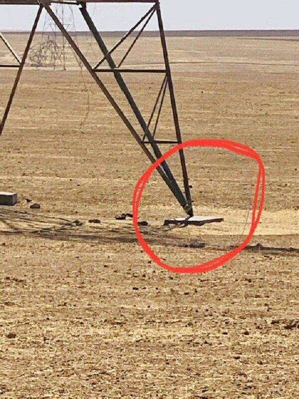 الحشدالشعبی عملیات انفجار دکلهای برق را ناکام گذاشت/عکس
