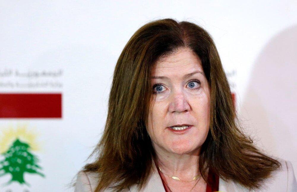 اقدام فریبکارانه سفیر آمریکا در لبنان