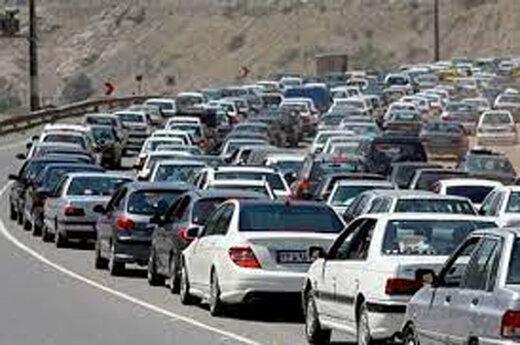 پرترافیکترین جاده ایران: از تهران تا قزوین