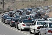 ببینید   ازدحام شدید خودروهای شخصی در مسیر تهران-شمال