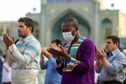 تصاویر   اقامه نماز عید قربان در سراسر ایران