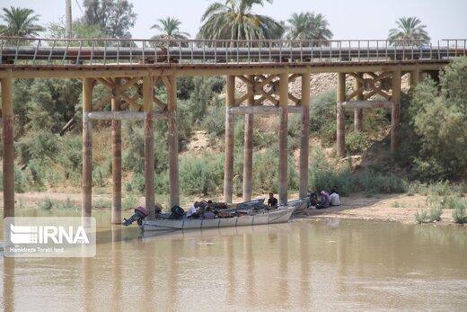 جریان آب در رگهای دشت آزادگان