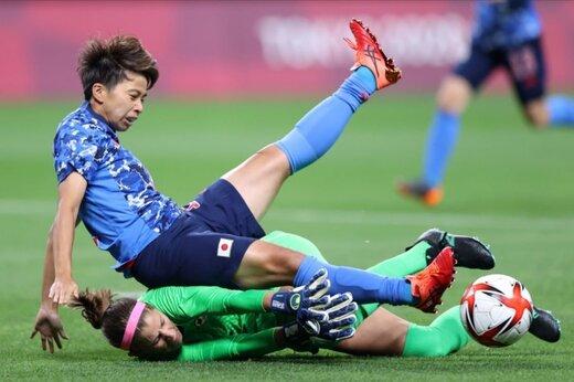 تصاویر روز نخست رقابتهای فوتبال زنان المپیک توکیو
