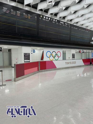 سکوت عجیب در فرودگاه توکیو در آستانه شروع المپیک
