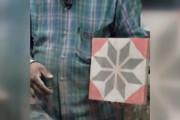 ببینید | کاشیهای دست ساز 50 ساله!