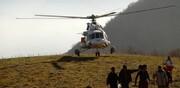 اعزام بالگردهای وزارت دفاع برای اطفای حریق به استان گلستان