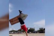 ببینید | مرد تگزاسی با توانایی عجیب چرخاندن اجسام!