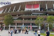 ببینید | نمایی از ورزشگاه بدون تماشاگر توکیو ساعاتی قبل از افتتاحیه