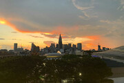 عکس | آخرین غروب توکیو پیش از شروع رقابتهای المپیک 2020