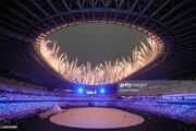 ببینید | قابی تماشایی از آتشبازی زیبا در افتتاحیه توکیو 2020