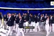 ببینید | لحظه شادی ویژه و جالب کاروان آرژانتین در افتتاحیه المپیک توکیو