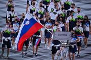 تصاویر   قابهای ماندگار رژه ورزشکاران کشورهای مختلف در مراسم افتتاحیه المپیک توکیو