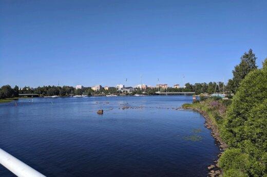 ببینید | رکورد جدید 42 کیلومتری شنا در روسیه