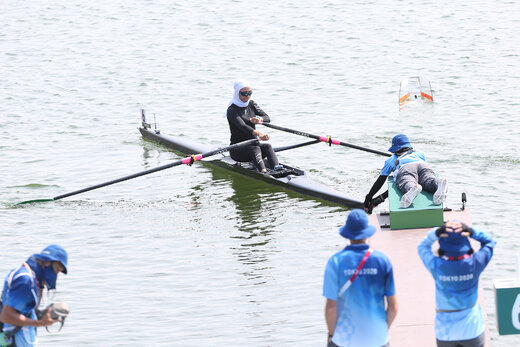 نازنین ملایی اولین ورزشکار ایرانیه تو المپیک