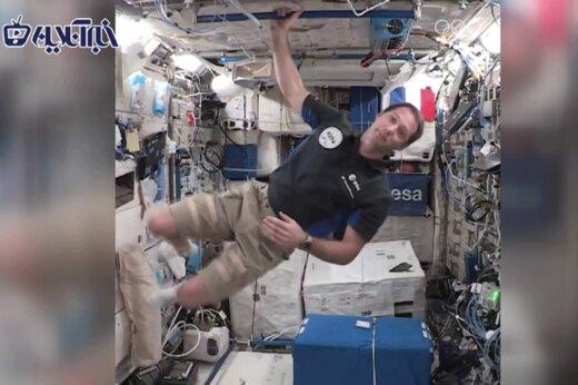 ببینید | پیام ویژه فضانورد فرانسوی از ایستگاه بینالمللی در خصوص المپیک 2020