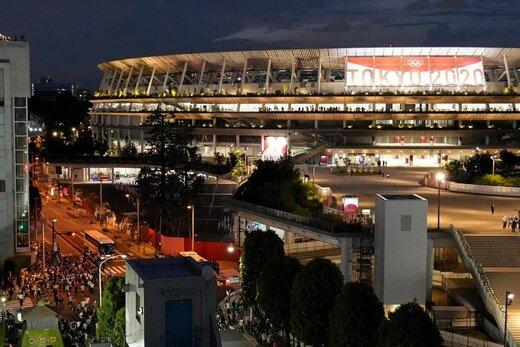 آخرین قابها از آمادهسازی مراسم افتتاحیه المپیک 2020 توکیو