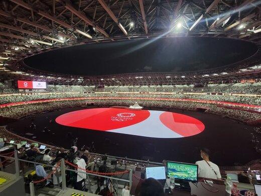 ببینید | گزیدهای از مراسم افتتاحیه بازیهای المپیک ۲۰۲۰