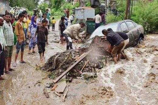 ببینید | رانش مرگبار و هولناک زمین در غرب هند؛ ۳۶ کشته و دهها مفقود