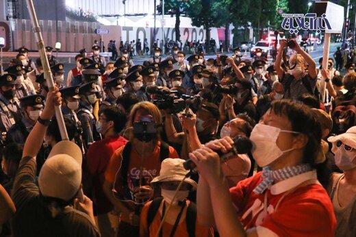 اعتراض به برگزاری بازی های المپیک در بیرون از ورزشگاه