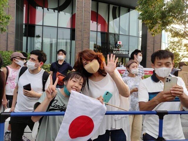 سورپرایز ژاپنیها برای ورزشکاران المپیکی /عکس