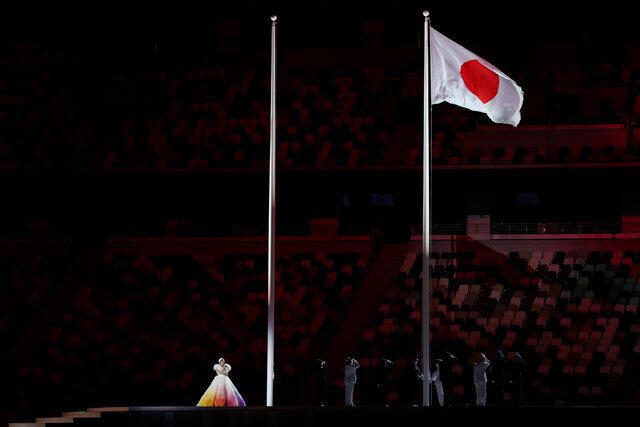 افتتاحیه المپیک 2020 توکیو /عکس