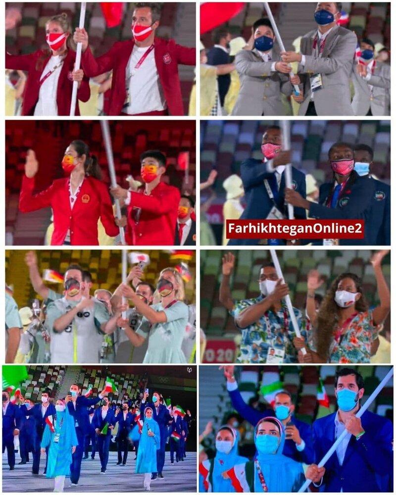 ببینید | بدسلیقگی کمیته المپیک حتی در انتخاب ماسک